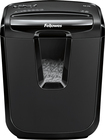 Fellowes - Powershred M-7C 7-Sheet Crosscut Shredder - Black