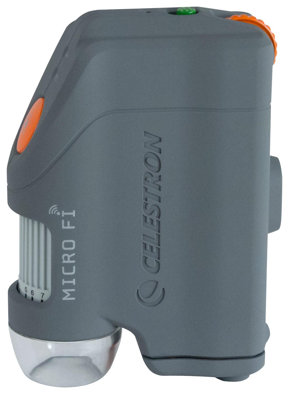 Celestron - Micro Fi Handheld Digital Microscope - Gray