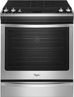 "Whirlpool - 30"" Self-Cleaning Slide-In Gas Convection Range - Stainless-Steel"