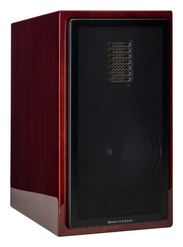 MartinLogan - Motion 35XT 6-1/2 2-Way Bookshelf Speaker (Each) - Gloss Black Cherrywood