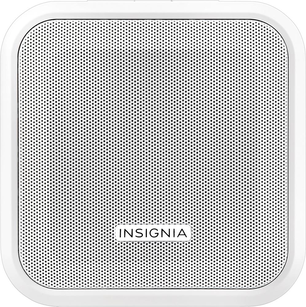 Insignia™ - Plug-In Bluetooth Speaker - White