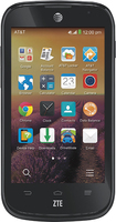 AT&T GoPhone - ZTE Compel 4G No-Contract Cell Phone - Black