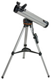 Celestron - 76LCM 700mm Computerized Newtonian Reflector Telescope - Silver