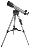 Celestron - 90LCM 660mm Computerized Refractor Telescope - Silver