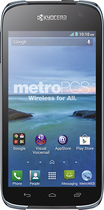 MetroPCS - Kyocera Hydro Life 4G No-Contract Cell Phone - Black