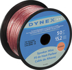 Dynex™ - 50' Spool Speaker Wire - Gold