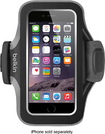 Belkin - Slim-Fit Plus Armband Case for Apple® iPhone® 6 - Black