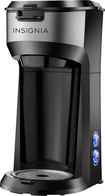 Insignia™ - Single-Serve Coffeemaker - Black