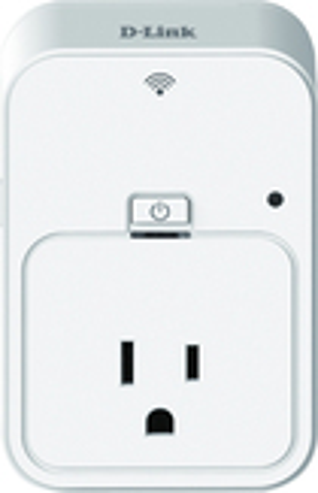 D-Link - Wi-Fi Smart Plug - White