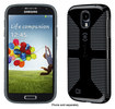 Speck - CandyShell Grip Case for Samsung Galaxy S 4 Cell Phones - Black/Slate