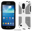 Speck - CandyShell Grip Case for Samsung Galaxy S 4 Mini Cell Phones - White/Black