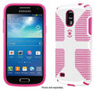 Speck - CandyShell Grip Case for Samsung Galaxy S 4 Mini Cell Phones - White/Raspberry