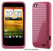 Speck - PixelSkin HD Case for HTC One V Cell Phones - French Rose