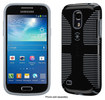 Speck - CandyShell Grip Case for Samsung Galaxy S 4 Mini Cell Phones - Black/Slate