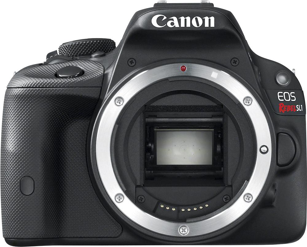 Canon - EOS Rebel SL1 DSLR Camera (Body Only) - Black