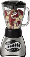 Oster - 16-Speed Blender - Brushed Nickel