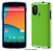Speck - Candyshell Case For Lg Nexus 5 Cell Phones - Tennis Ball Green/cadet Blue