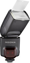 Insignia™ - TTL External Flash for Canon - Black