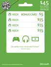 Microsoft - $15 Xbox Gift Cards (3-Pack) + $5 - Green