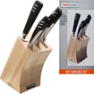 Top Chef - Santoku 5-Piece Knife Set - Steel