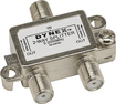 Dynex™ - 2-Way Coaxial Splitter - Silver