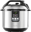 Breville - the Fast Slow Cooker 6-Quart Pressure Cooker and Slow Cooker - Stainless-Steel