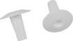 Dynex™ - Coaxial Cable Feed-Through Bushings (2-Pack) - White