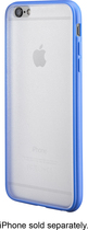 Insignia™ - Case for Apple® iPhone® 6 Plus - Clear/Blue