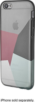 Insignia™ - Translucent TPU Case for Apple® iPhone® 6 - Black/Red/Purple/Green/Clear