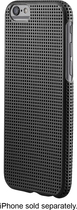 Insignia™ - Perforated Case for Apple® iPhone® 6 - Black