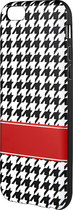 Insignia™ - Case for Apple® iPhone® 6 - Black/White/Red