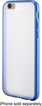 Insignia™ - Case for Apple® iPhone® 6 - Clear/Blue