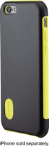 Modal - Dual-Layer Case for Apple® iPhone® 6 - Black/Yellow