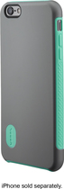 Modal - Dual-Layer Case for Apple® iPhone® 6 Plus - Gray/Green