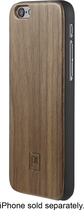 Platinum - Premium Wood Case for Apple® iPhone® 6 - Black Walnut