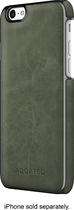 ADOPTED - Leather Wrap Case for Apple® iPhone® 6 - Saddle Olive/Gunmetal
