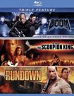 Doom/the Scorpion King/the Rundown [3 Discs] [blu-ray] 8461386