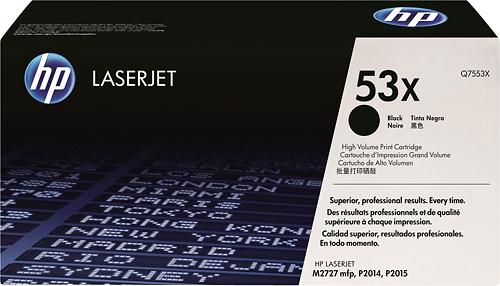 Hp - Q7553x High-yield Toner Cartridge - Black