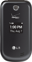 LG - REVERE 3 Cell Phone - Black (Verizon Wireless)