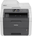 Brother - MFC-9130CW Digital Color Laser All-in-One Printer with Wireless Networking - Gray