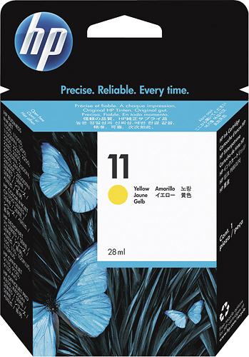 HP - 11 Ink Cartridge - Yellow