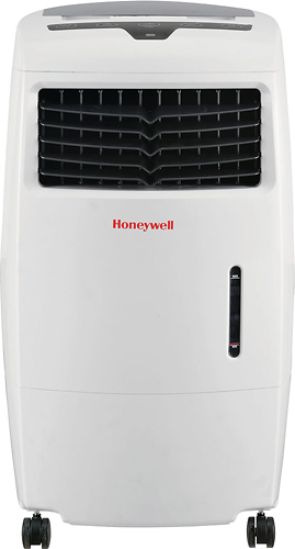 Honeywell - Portable Indoor Evaporative Air Cooler - White