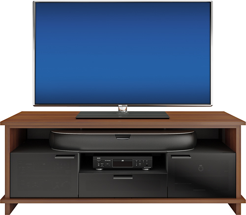 BDI - Braden A/V Cabinet for Flat-Panel TVs Up to 75 - Chocolate