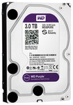 WD - Purple 3TB Internal Serial ATA Hard Drive (OEM/Bare Drive) - Silver