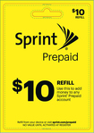 Sprint - $10 Top-Up Prepaid Card