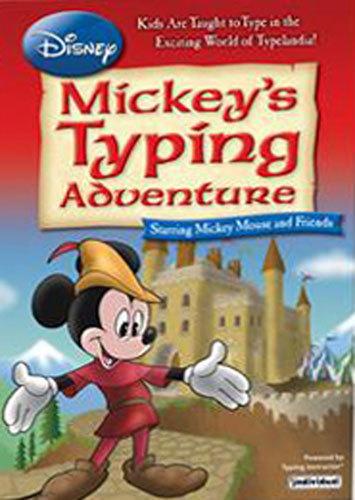 Mickey's Typing Adventure - Windows