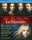 Les Miserables [2 Discs] [includes Digital Copy] [ultraviolet] [blu-ray/dvd] 8486427