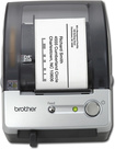 Brother - QL-500 Label Printer - Black/Silver