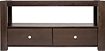 "Pinnacle Design - Solid Wood TV Console for Flat-Panel TVs Up to 55"" or 100 lbs."