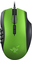 Razer - Naga MMO Laser Gaming Mouse - Limited Edition Green
